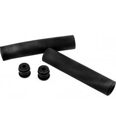 Puños M-Part Silicona antideslizante 140 x 30mm negro