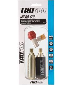 Hinchador Truflo Micro CO2 2 x cartuchos 16g