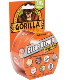 Gorilla Clear Repair Tape 8.2m x 48mm Pack of 6