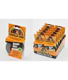 Gorilla Tape Handy Roll 9.1m x 25mm Pk 12
