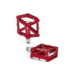 pedal XLC BMX Freeride PM-M12 rojo