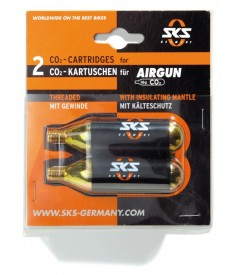 Set cartuchos de recambio SKS AirGun|2 cartuchos