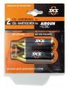 Set cartuchos de recambio SKS AirGun|2 cartuchos, a 16g por carta, con rosca