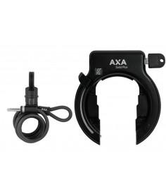 Antirrobo cuadro Axa Solid Plus negro|incl.Newton PL150