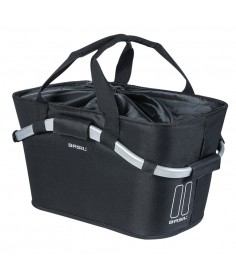 Bolsa City Basil Classic Carry All Rear|MIK negro