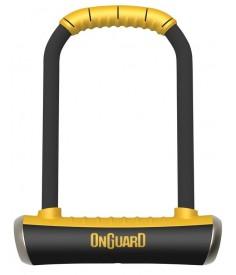 Antirrobo U Onguard con soporte|Pitbull STD 8003 115 x 230 Ø 14 mm