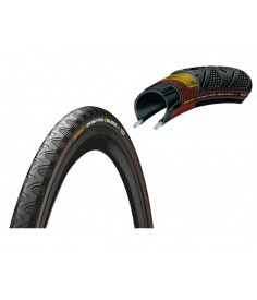 "Cubierta Conti Grand Prix 4-Season pleg.|28"" 700x23C 23-622 negro Dura Skin"