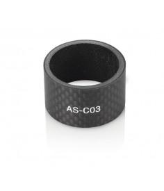 XLC A-Head Spacer|negro 20 mm