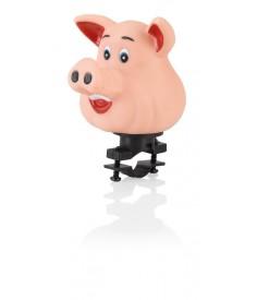 XLC Bocina para niños cerdo|para fijación al manillar