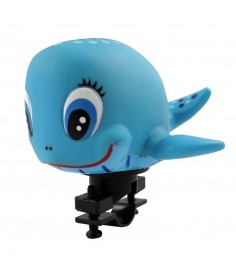 XLC Bocina para niños ballena|para fijación al manillar