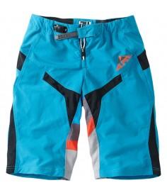 Madison Alpine men's FR shorts china blue / chilli red small
