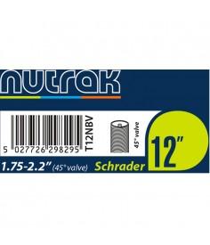 "Cámara Nutrak 12"" 1.75-2.125 Schrader 45 grados"