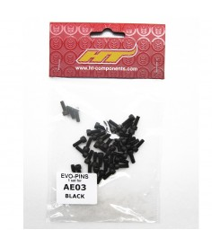 HT AE03 PEDAL PINS BLACK