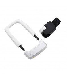 KNOG STRONGMAN U-LOCK WITH BRACKET WHITE
