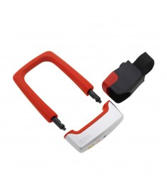 KNOG STRONGMAN U-LOCK WITH BRACKET RED