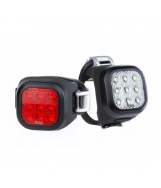 KNOG BLINDER MINI NINER LIGHTS TWINPACK BLACK