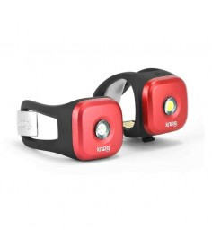 KNOG BLINDER 1 LED LIGHT TWINPACK RED