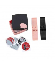 KNOG PC PATCH KIT BLACK/PINK