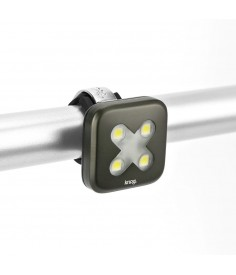 "KNOG BLINDER 4 LED FRONT LIGHT ""X""/GUNMETAL"