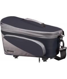 Bolsa sistema Racktime Talis Plus negro gris incl adaptador Snapit