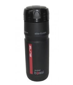 Botella de almacenamien Elite Superbyasi negro Ø 74 mm 750ml