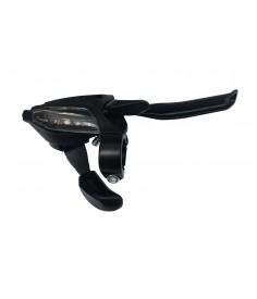 Maneta FC Shimano ST EF 500 4 dedos 7 v derechoV Brake2050mmnegro