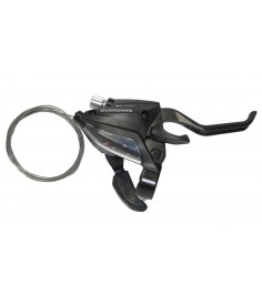 Maneta FC Shimano ST EF 500 2 dedos 8 v derecho V Brake 2050mm negro