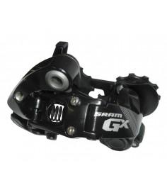 Cambio GX 10 v jaula corta negro aluminio