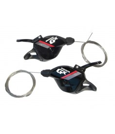 Maneta cambio Trigger Sram GX 11 v der rojo con abrazadera 007018209005