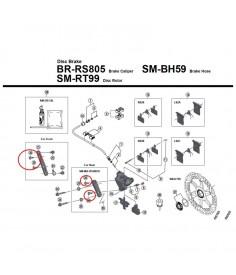 TORNILLO FIJACIoN PINZA BR RS505 B