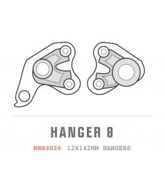 Patilla Saracen Ariel (12x142) Hangers Pair tipo 08