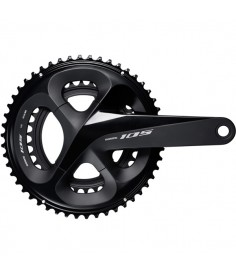 FC-R7000 105 double chainset HollowTech II 175 mm 53 / 39T black