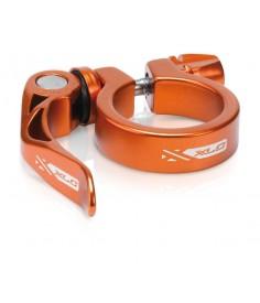XLC abrazadera tija PC L04 Ø 349 mm naranja con cierre rapido
