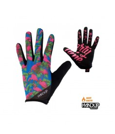Rumblebikes-Handup Party Time LITE Gloves - Flamingo M-Guantes