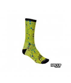 Rumblebikes-Handup Foot Down Socks - The Splatter - Braaap