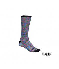 Rumblebikes-Handup Foot Down Socks - The Flamingo - Party Time
