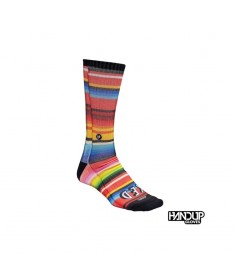Rumblebikes-Handup Foot Down Socks - Serape - Stoked