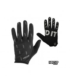Rumblebikes-Handup Send It Gloves - Blackout Bolts (Reflective)