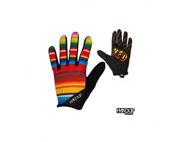 Handup Stoked Gloves - Serape - MultiColored L
