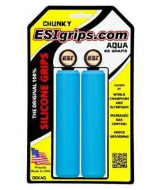 Rumblebikes-ESIgrips Chunky Aqua-Puños