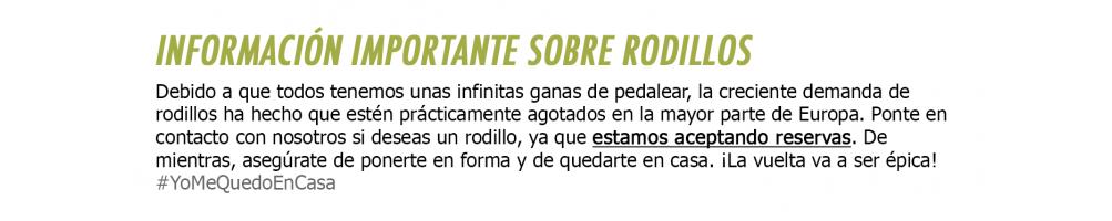 Rodillos entrenamiento - Rumble Bikes