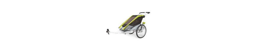 Child trailers - Rumble Bikes